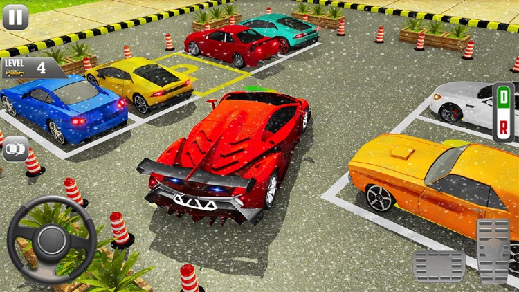 Sports Car Parking Games screenshot-3