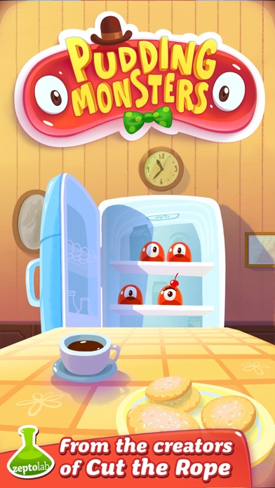 Screenshot for Pudding Monsters in Saudi Arabia App Store