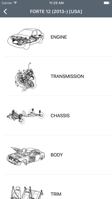 Kia Car Parts Diagramsのおすすめ画像2
