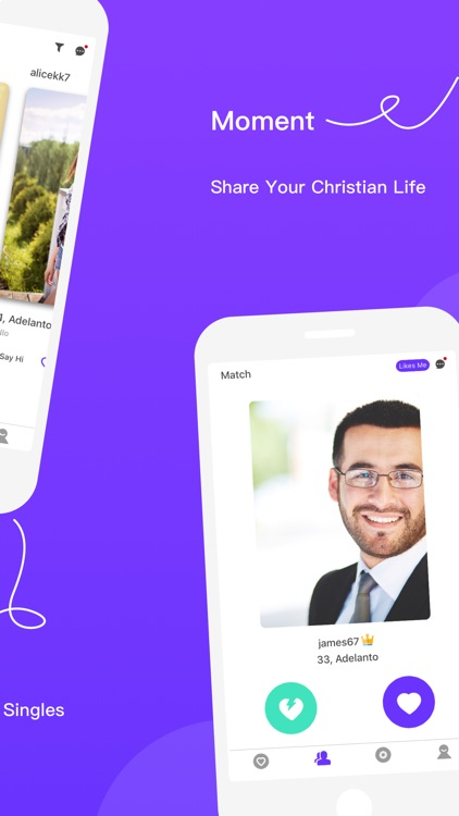 Christian Dating & Meet Up App