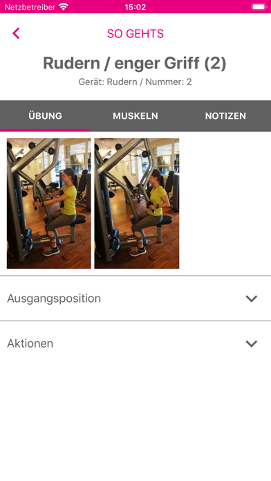 Feminin-Aktiv TrainingsplanScreenshot von 4