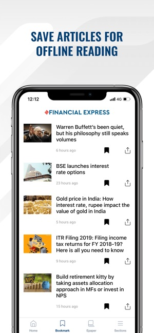 Financial Express for iPhone on the App Store