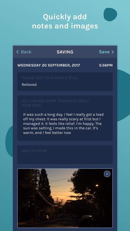 Cove: music for mental health screenshot-3