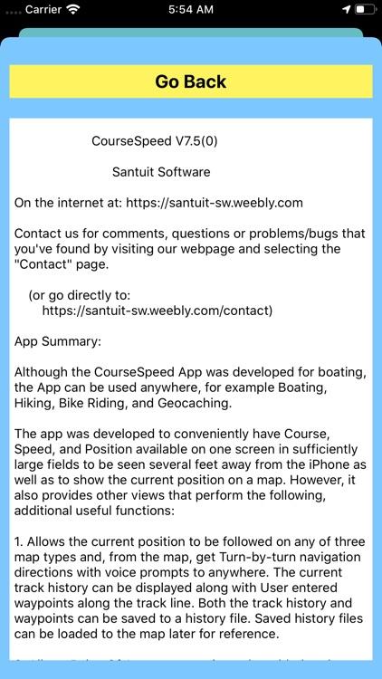 CourseSpeed screenshot-9