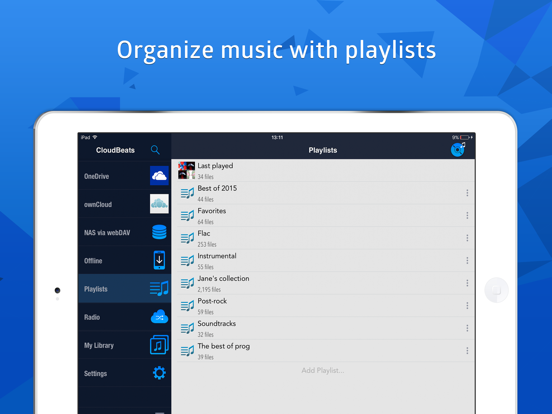 CloudBeats: music player Screenshots