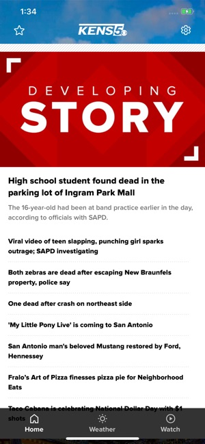 San Antonio News from KENS 5 on the App Store