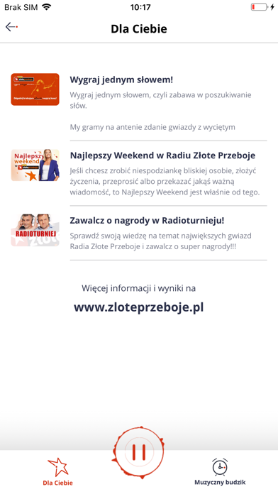 Radio Złote Przeboje screenshot four