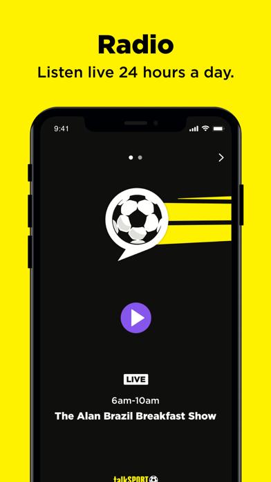 talkSPORT - Live Radio screenshot two