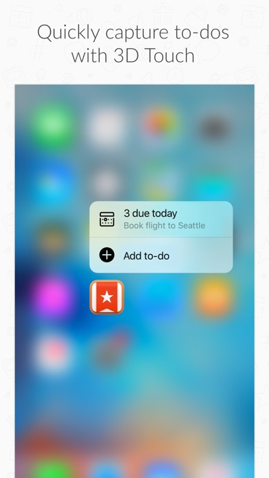 Wunderlist: To-Do List & Tasks Screenshot on iOS