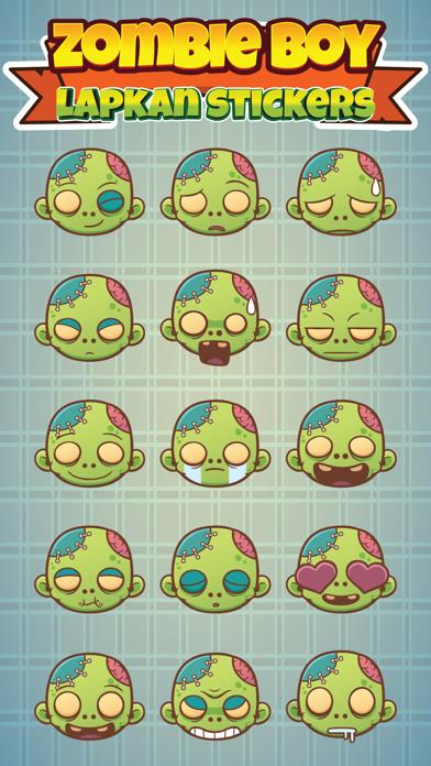 Sticker Me Zombie Boy 1