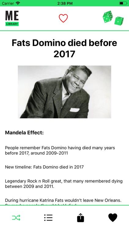 Mandela Effect Library