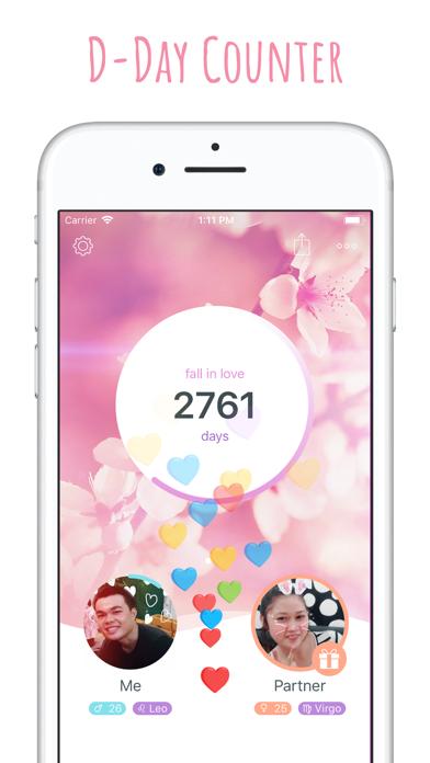 inlove - Love Days Counter screenshot two