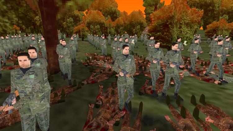 Zombie Battle 3D screenshot-4