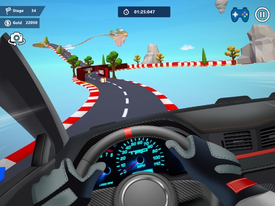 Car Stunts 3D - Sky Parkour screenshot 12