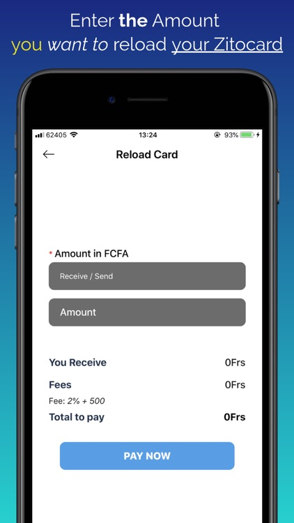 Zitocard - Activate & Reload screenshot-4
