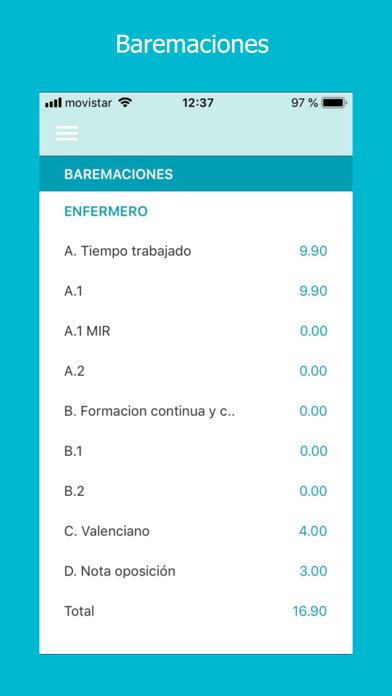 Bolsa Sanidad CVCaptura de pantalla de5