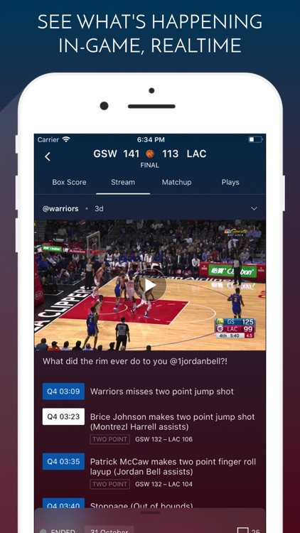 ClutchPoints - Live Sports screenshot-0