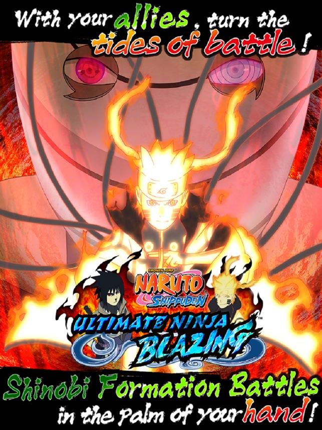 ninja storm blazing