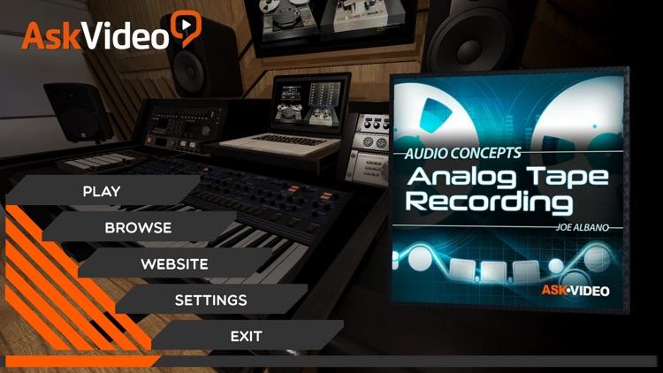 Analog Tape Course By AV screenshot-0