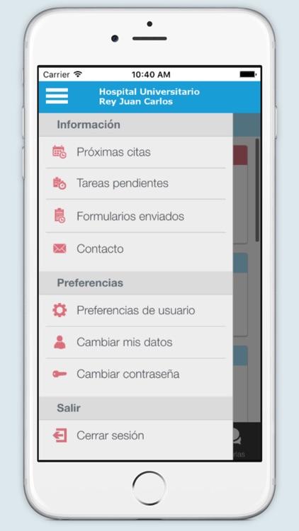 H.U Rey Juan Carlos screenshot-4