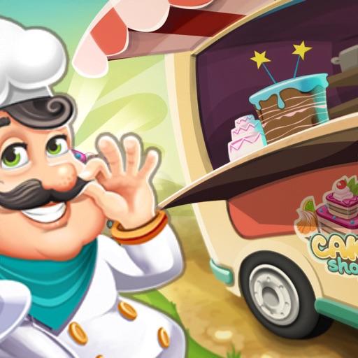 Papa Cooking Cake Dash : Sims