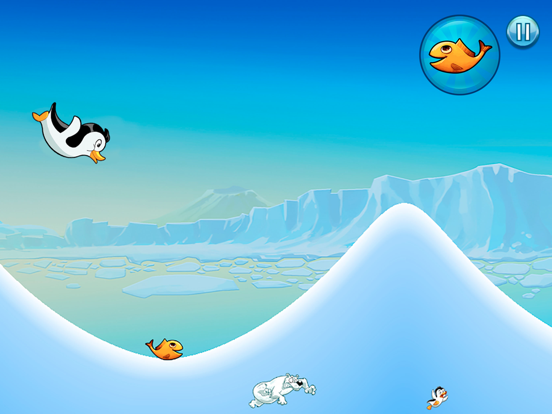 Racing Penguin: Slide and Fly!-ipad-4