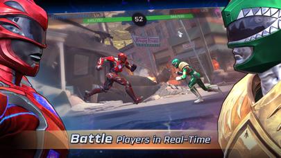 Screenshot from Power Rangers: Legacy Wars