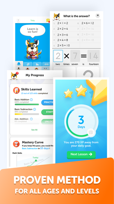 Math Learner: Easy Mathematics Screenshot