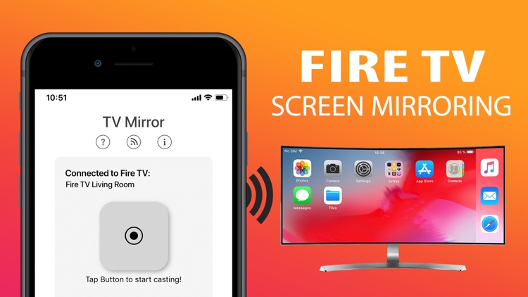 TV Mirror for Fire TV Screen