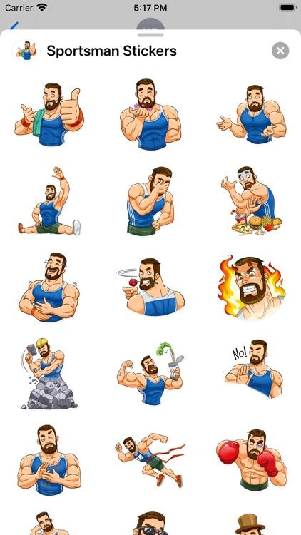Sportsman Stickers