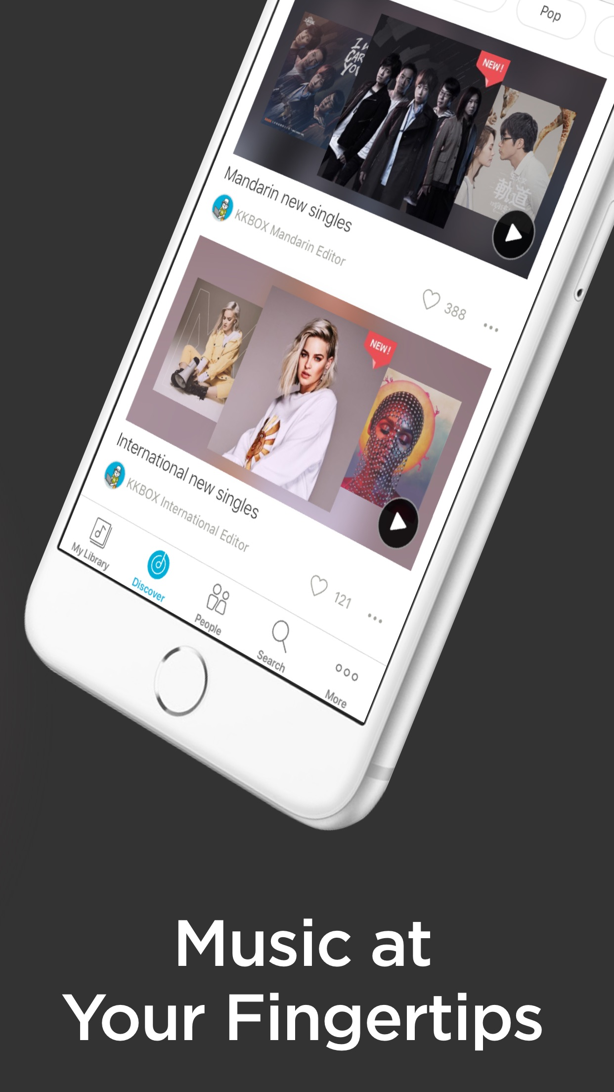 KKBOX - Play Unlimited Music! Screenshot