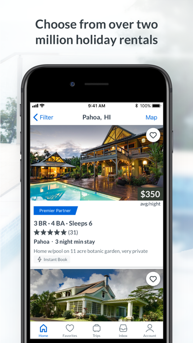 Download HomeAway for Pc