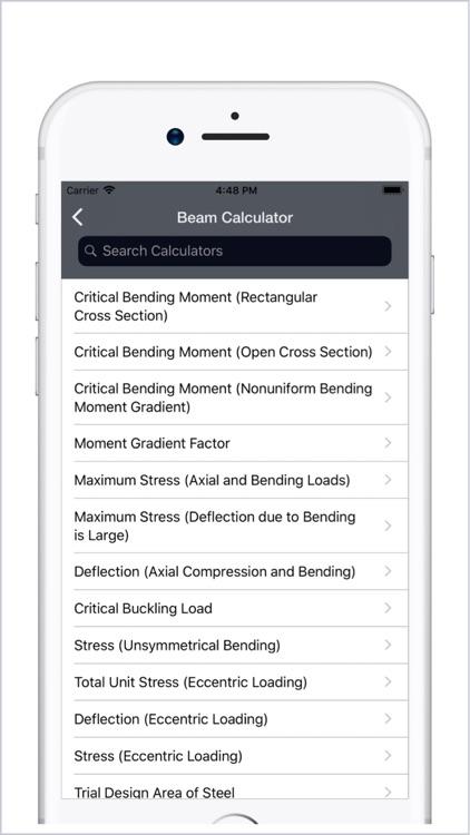 Civil Engineering Calculators screenshot-3