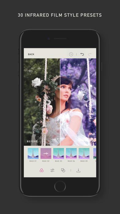 Infragraf screenshot 2
