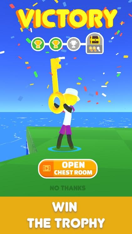 Golf Race screenshot-3