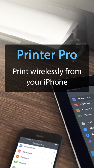 Printer Pro By Readdle review screenshots