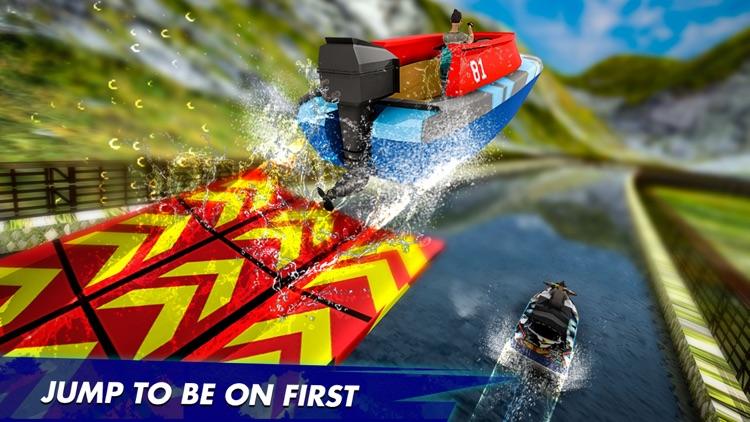 Fun Speed Boat 3D Race Battle