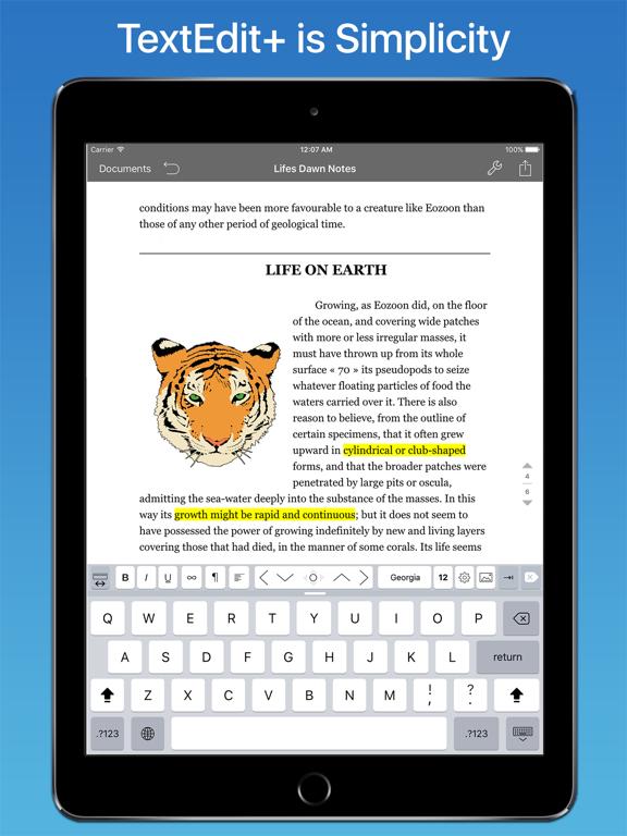 TextEdit + for RTF, LaTeX, Mdのおすすめ画像1