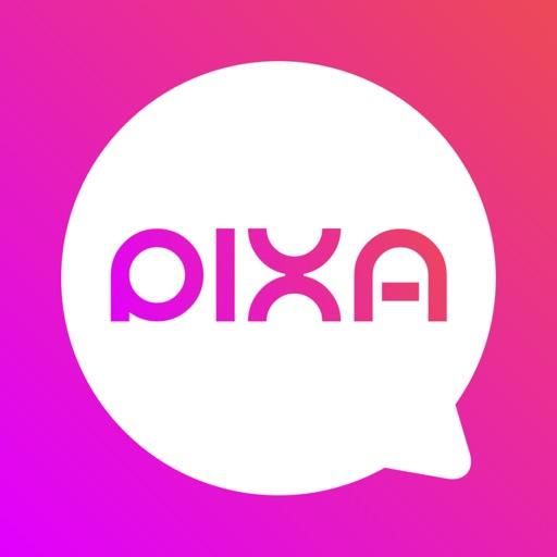 PIXA LIVE: Random Video Chat Icon