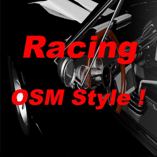 Racing Old School Muscle Style