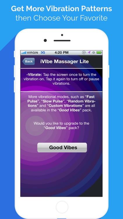 iVibe Vibrating Massager screenshot-3