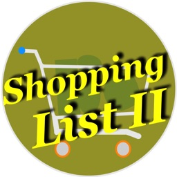 Shopping List II