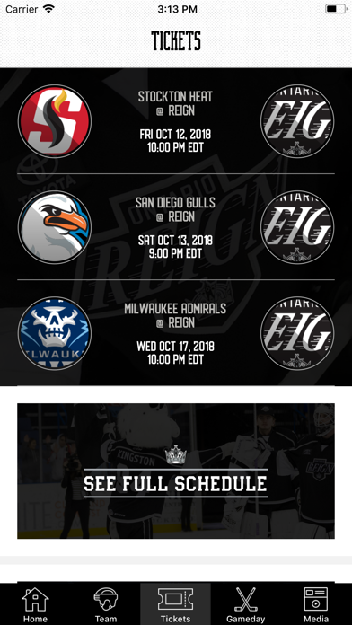 Ontario Reign screenshot two