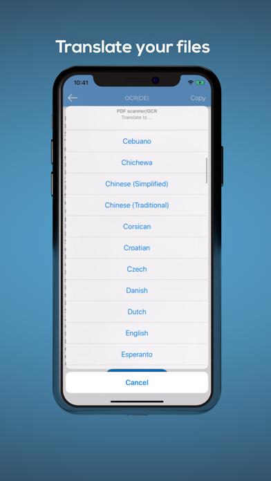 Scanner PDF Translate DocumentScreenshot von 2