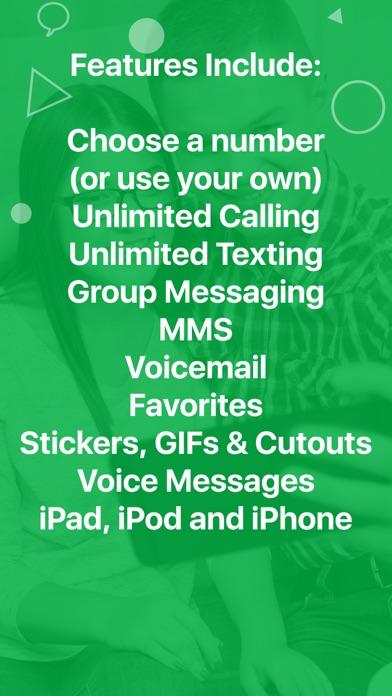 Screenshots for textPlus: Unlimited Text+Calls