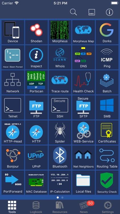 Network Toolbox Net security screenshot-0