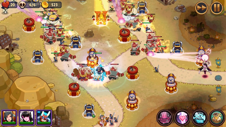 Realm Defense: Hero Legends TD screenshot-5