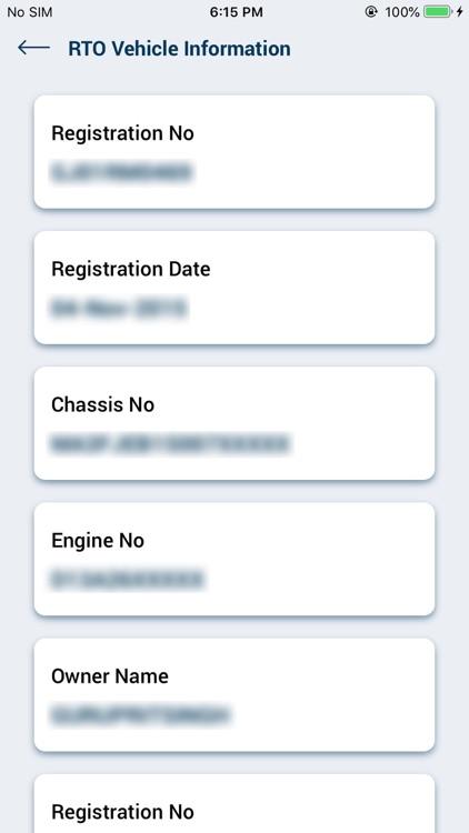 RTO Vehicle Information screenshot-3