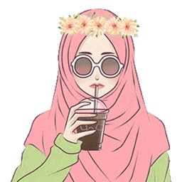 Hijab Girl Stickers iMessages