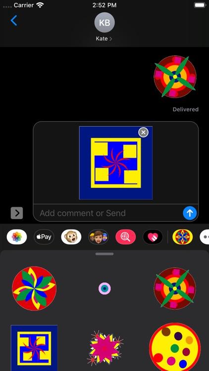 Kaleidos Stickers screenshot-6